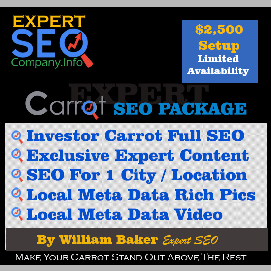 Investor Carrot SEO services