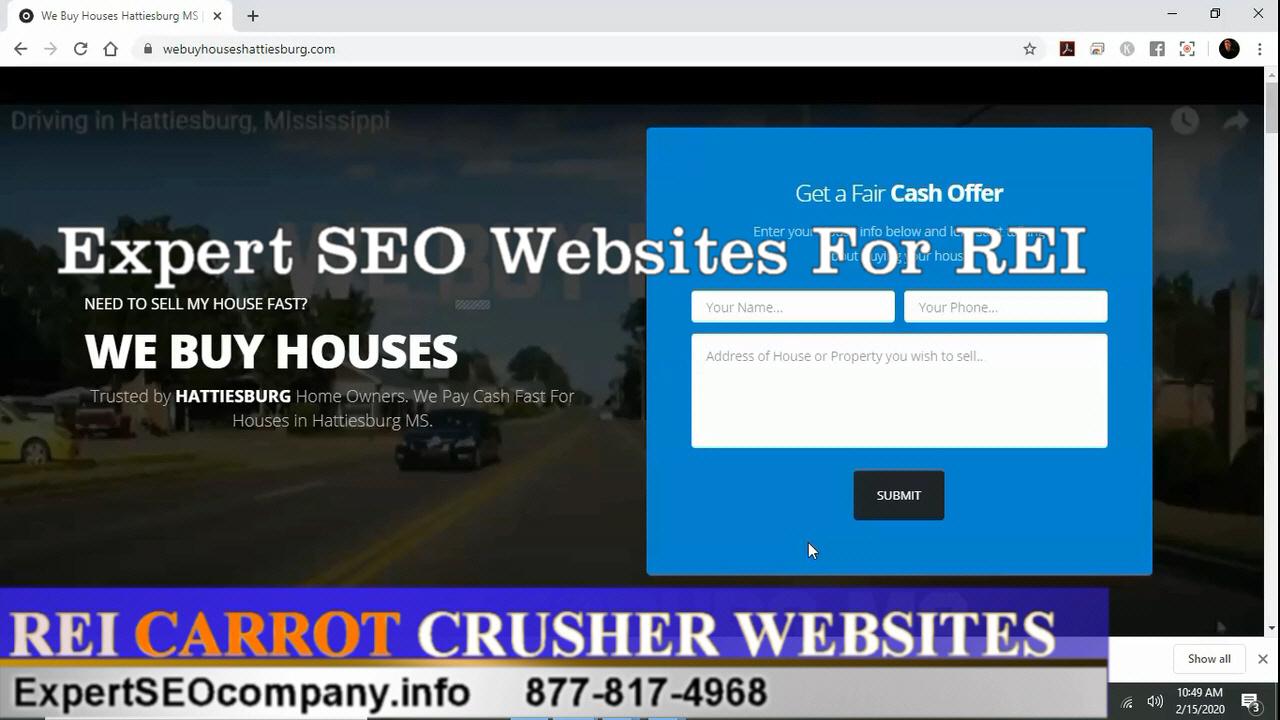 ExpertSEOcompany Carrot Crusher Investor Website